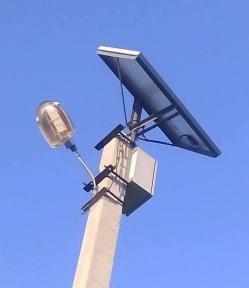 Автономный уличный LED фонарь 50Вт Solar АМ2 без столба