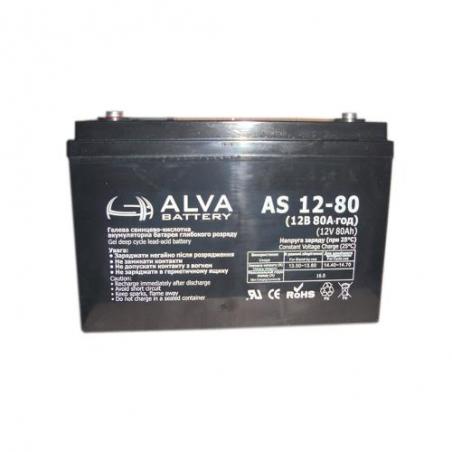 Аккумулятор ALVA AS12-80