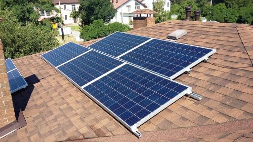Сетевая солнечная станция мощностью 8 кВт
