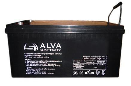 Аккумулятор ALVA AW12-40 12V-40Ah