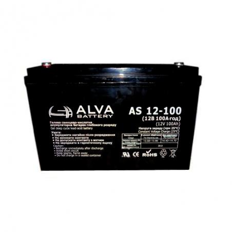 Аккумуляторная батарея ALVA AS12-100