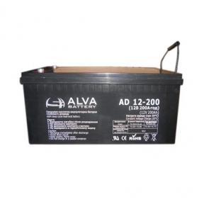 Аккумуляторная батарея Alva AD12-200 (12В 200Ач)